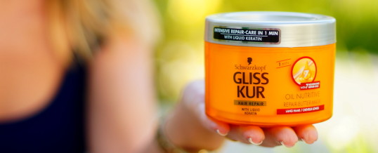 Gliss Kur Oil Nutritive, máscara capilar da Schwarzkopf