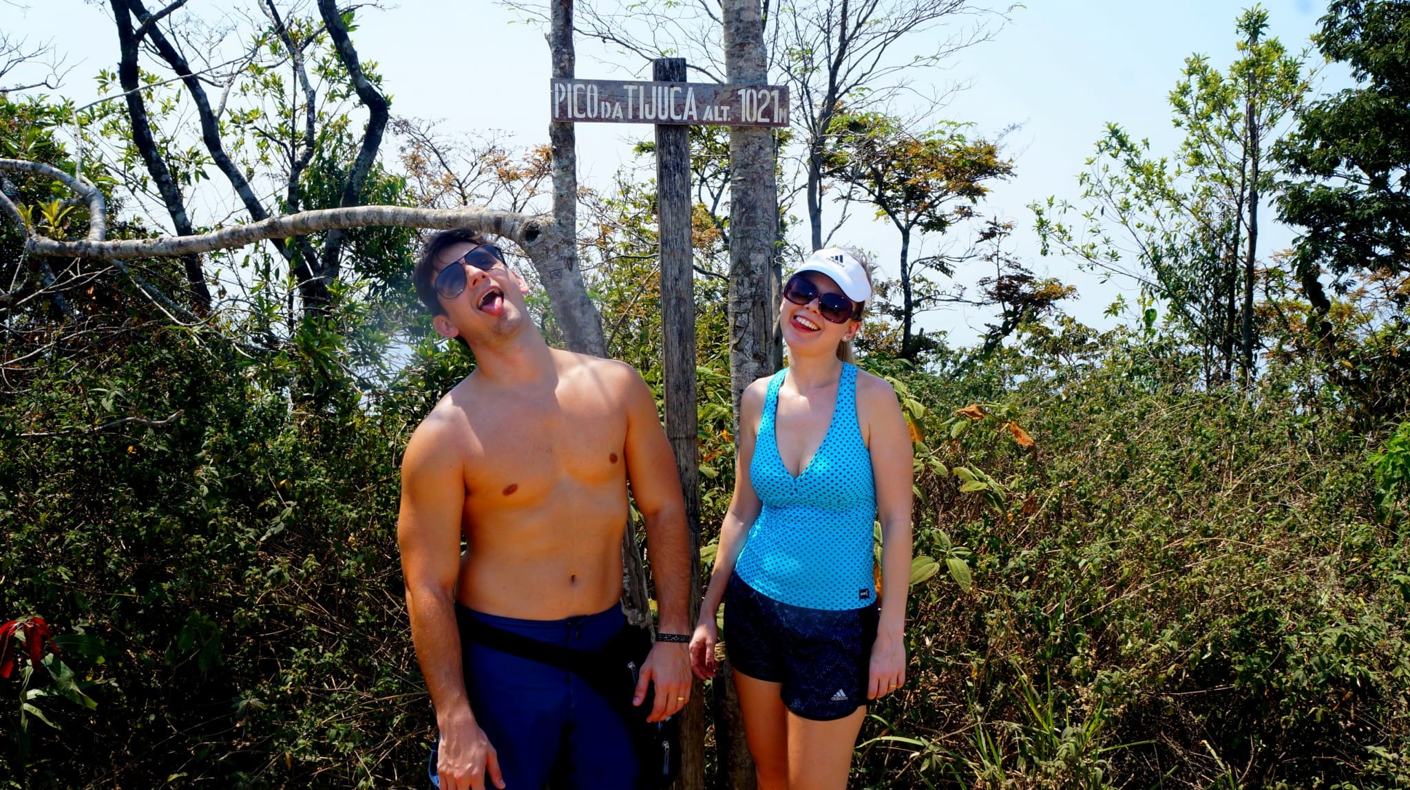 trilha na Floresta da Tijuca Pico da Tijuca