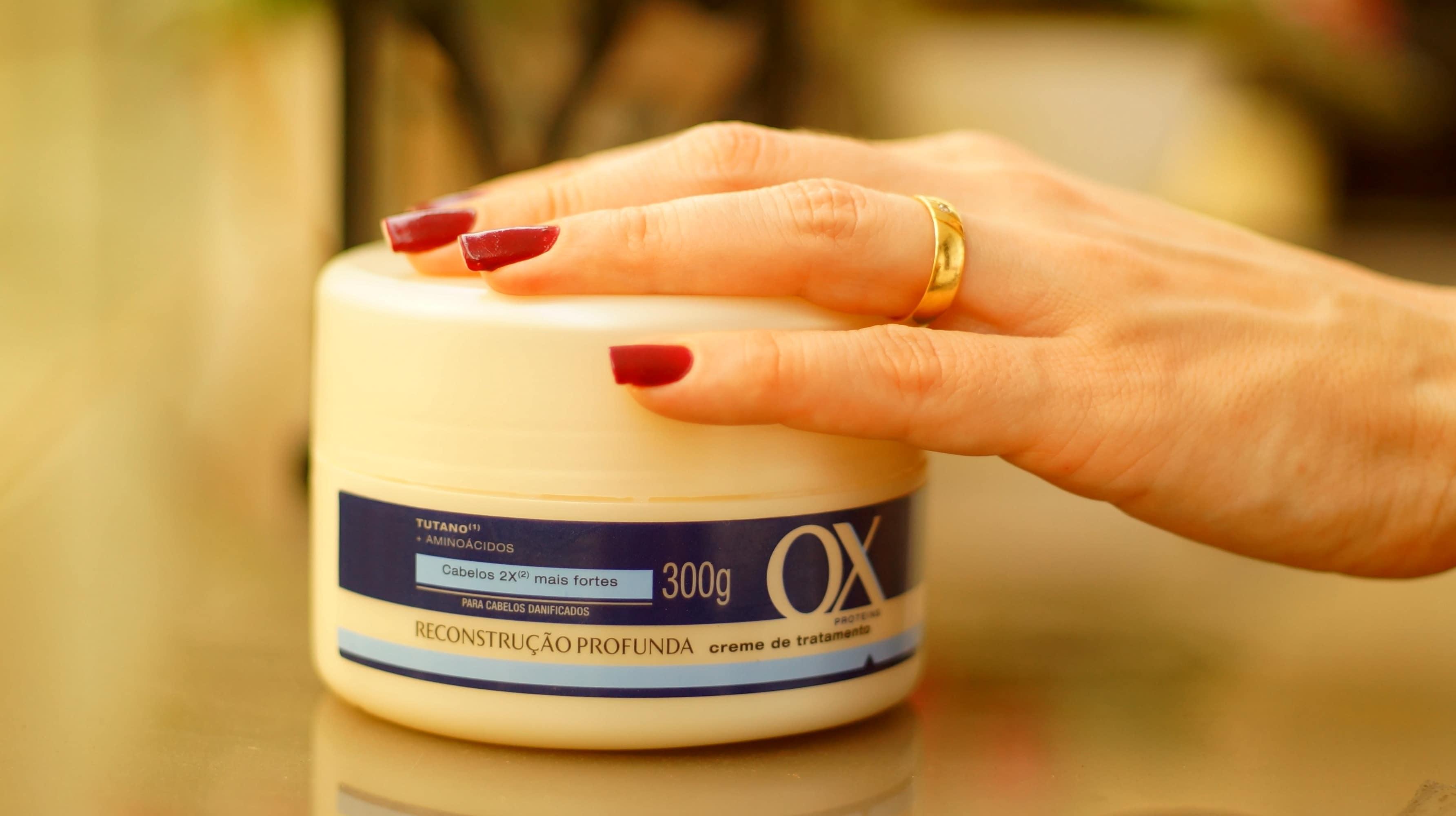 Creme de tratamento OX Proteins