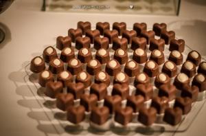 decoração casamento chocolates Luana Chocolates