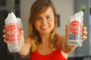 Copos da Coca-Cola