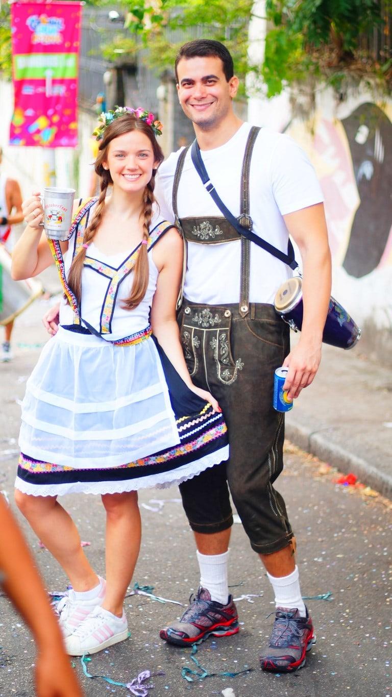 fantasias de Carnaval alemães