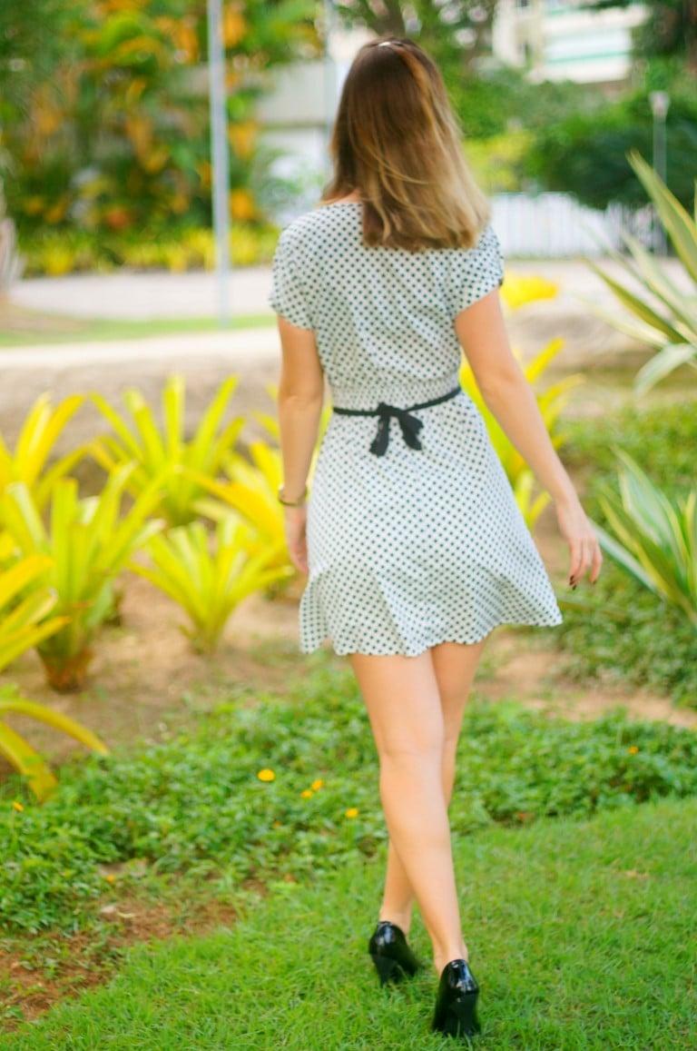 vestido de estrelinhas star print