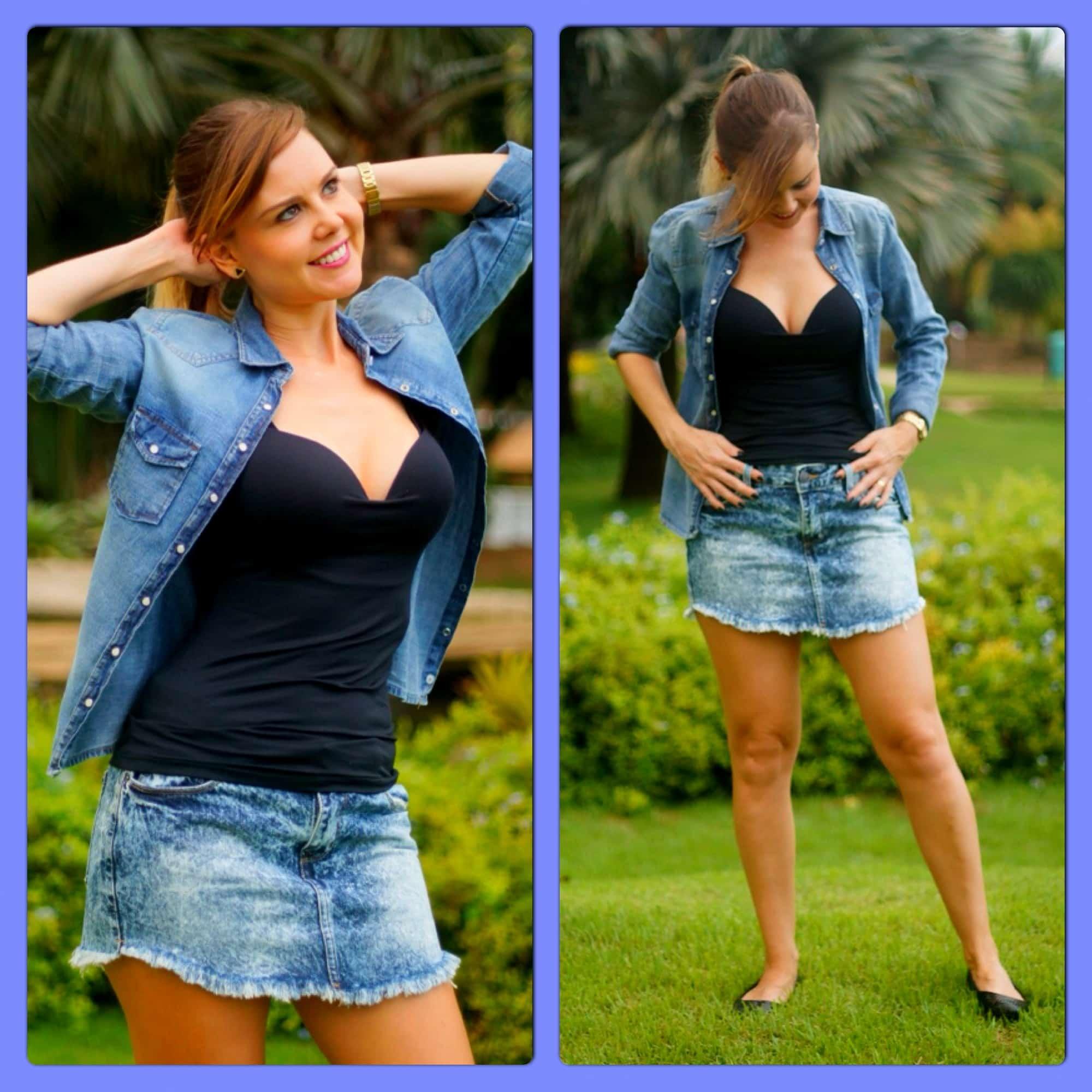 Lookbook Meu Pecado Predileto total jeans