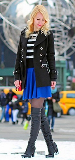 botas over the knee com saia dicas de como usar over the knee boots