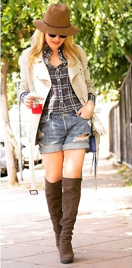 botas over the knee com short dicas de como usar over the knee boots