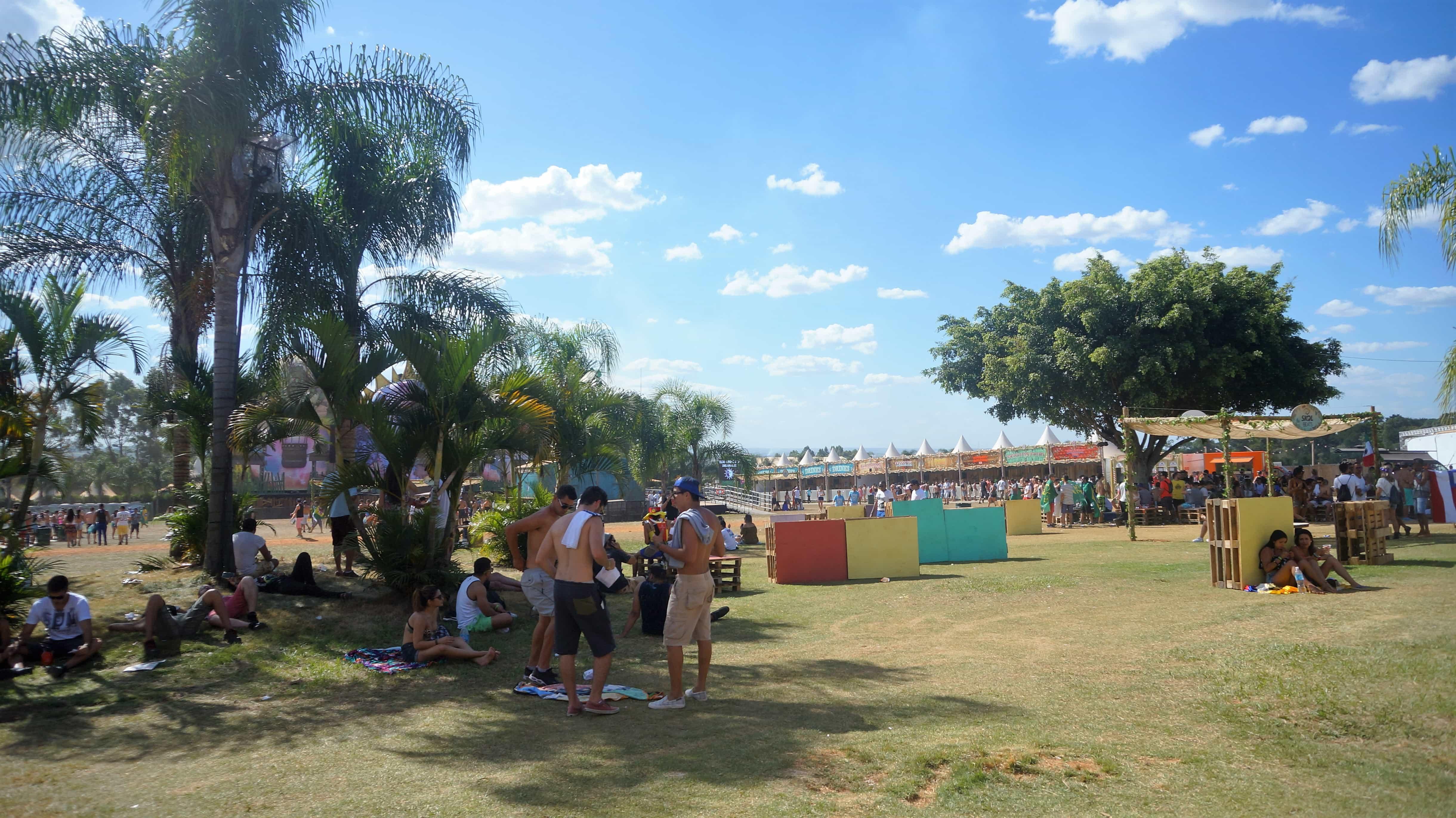 acampar na Dreamville Tomorrowland Brasil 2016