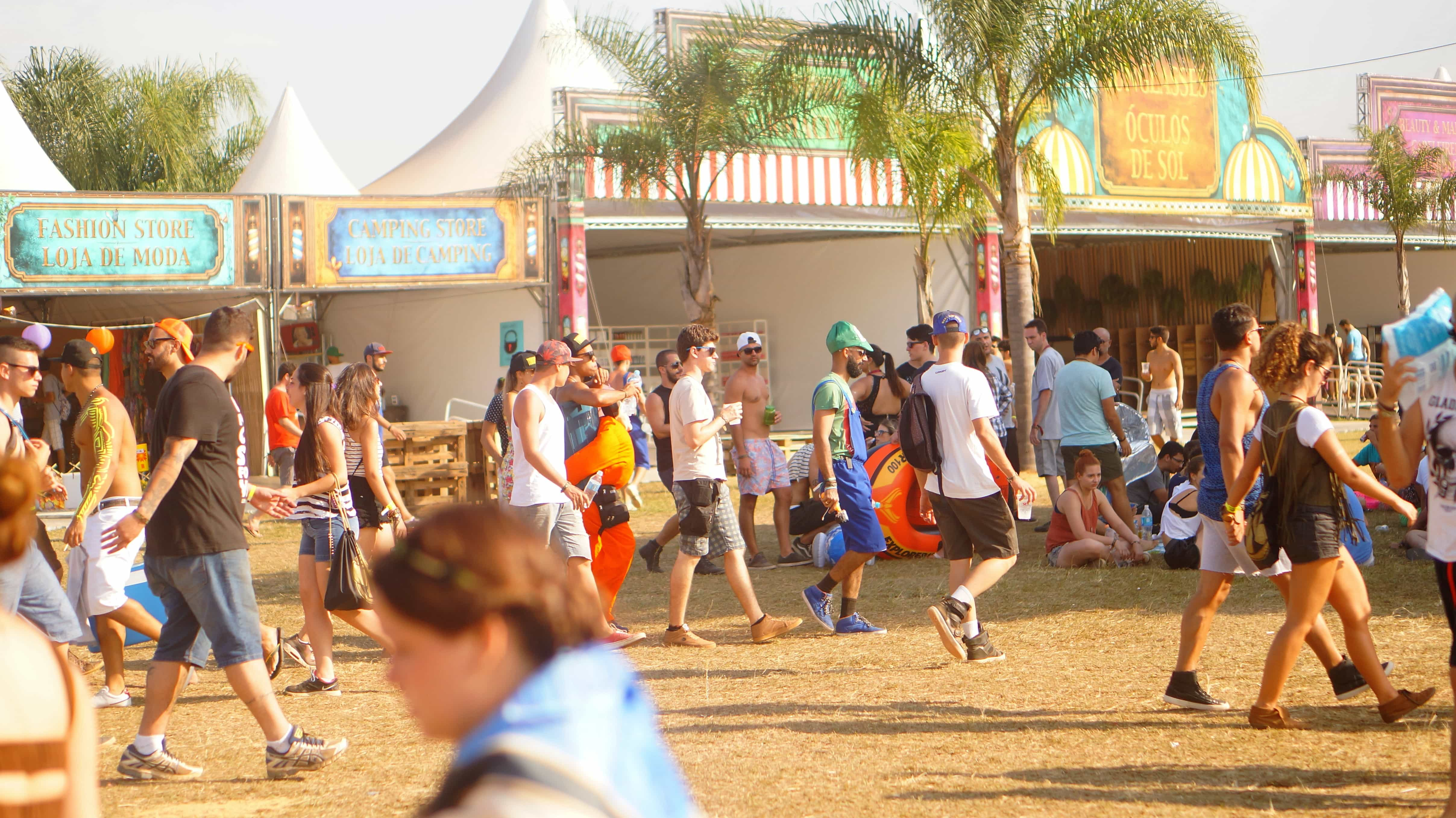 acampar na Dreamville Tomorrowland 2016 Brasil