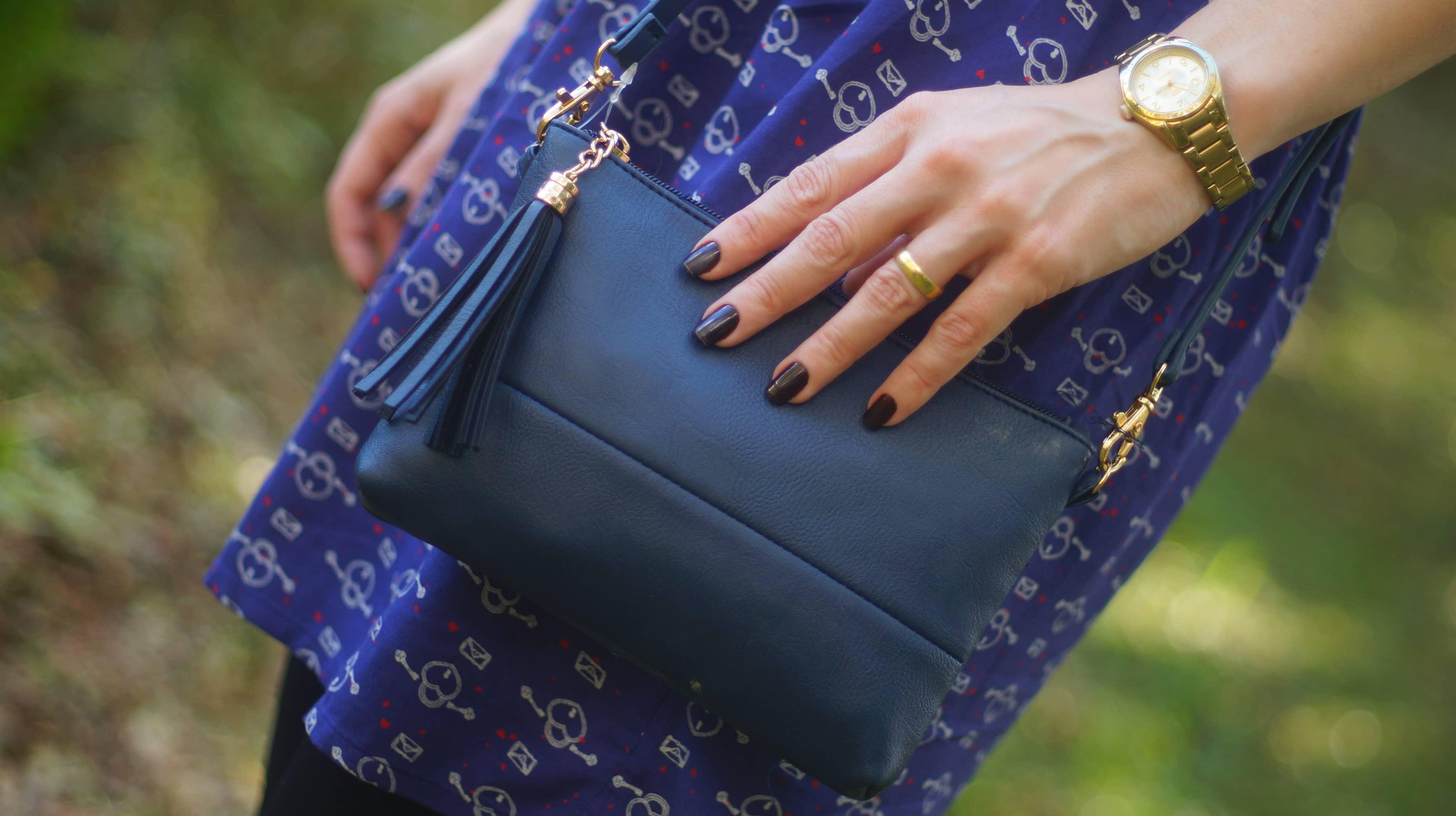 bolsa azul Renner