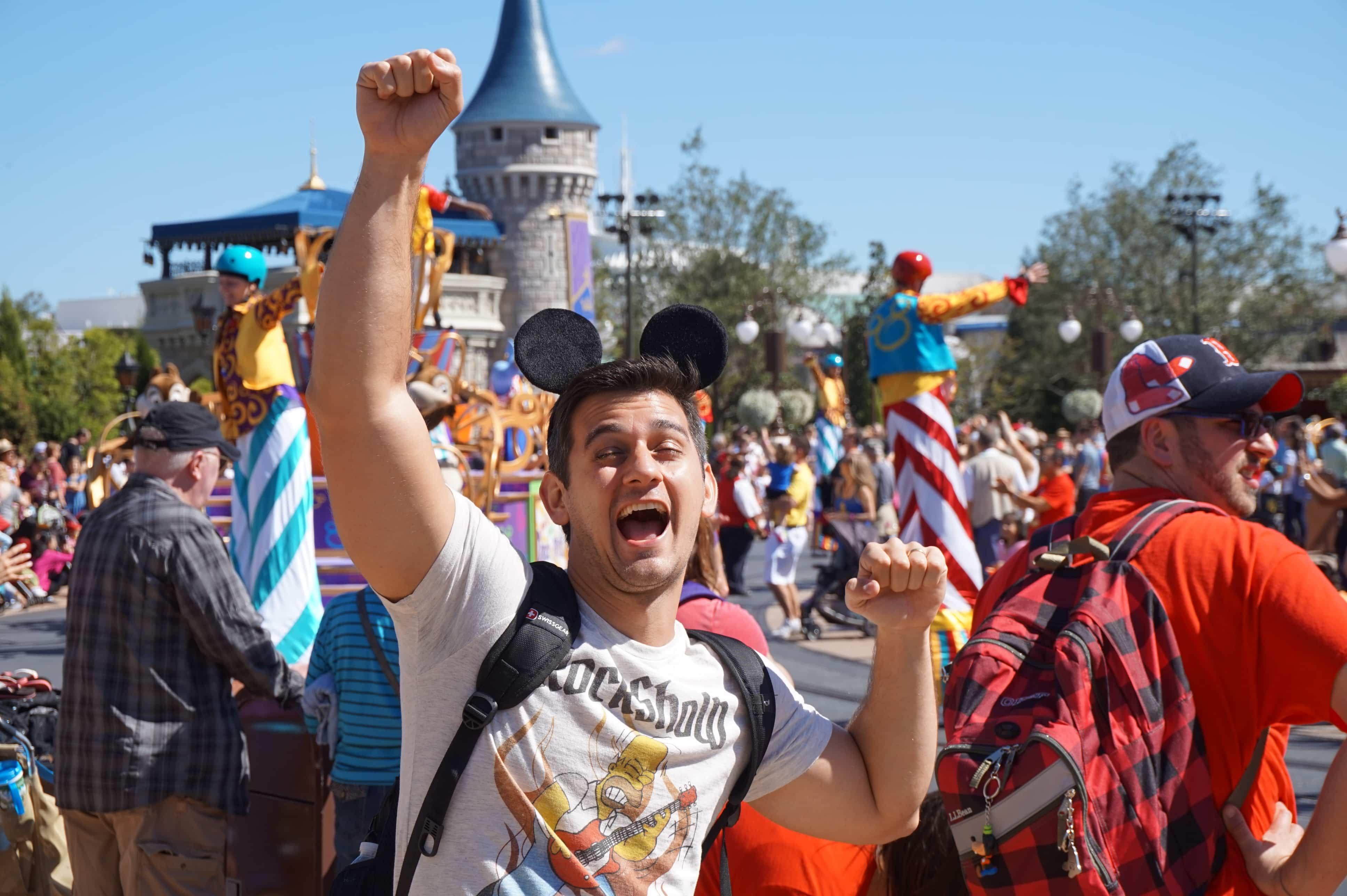 dicas para quem vai viajar para Orlando Magic Kingdom orelhas de Mickey