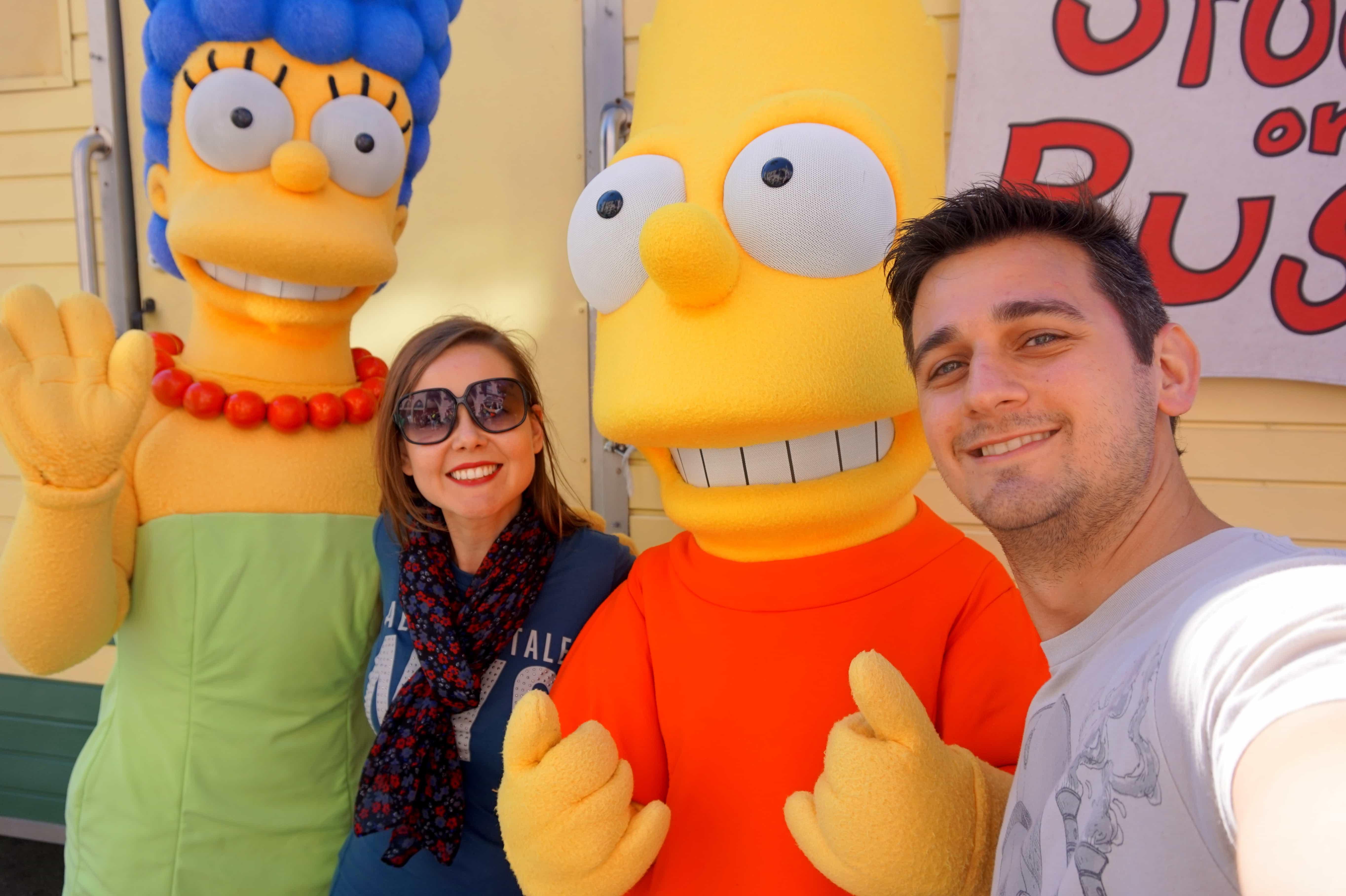 dicas para quem vai viajar para Orlando Universal Studios The Simpsons