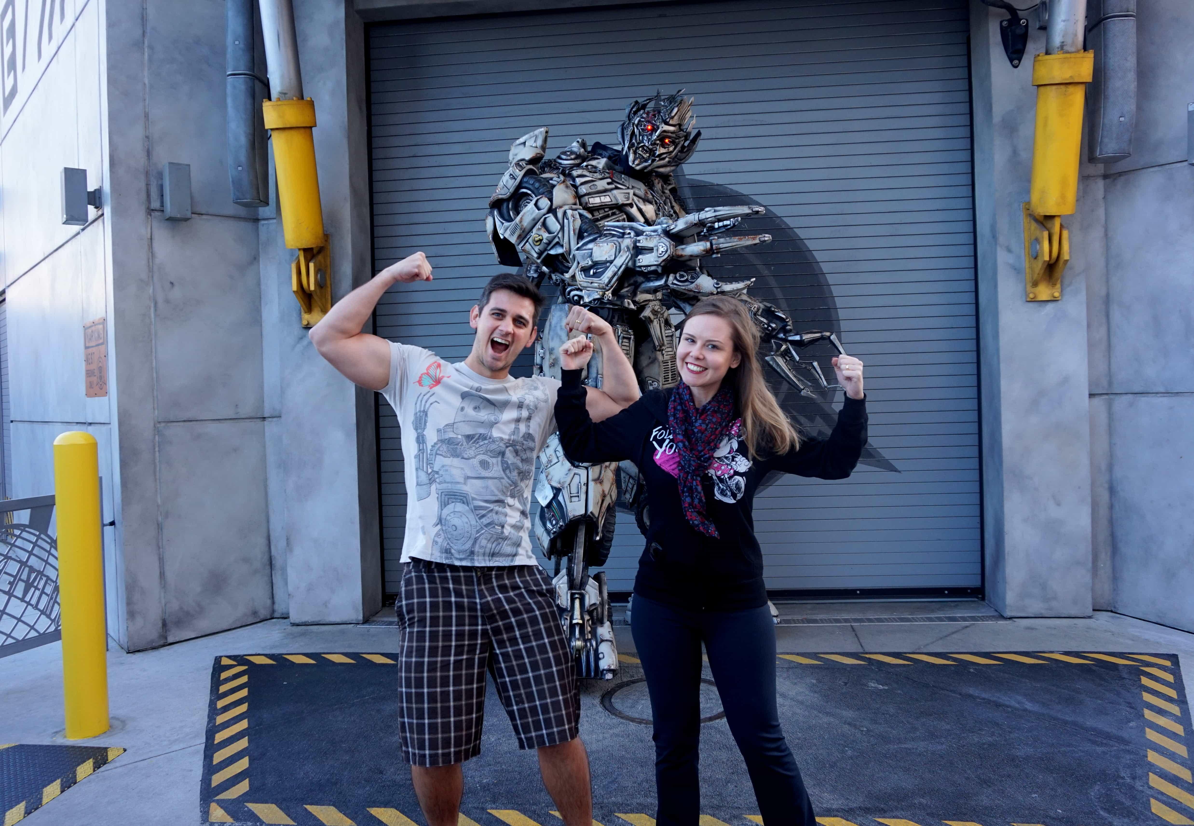 dicas para quem vai viajar para Orlando Universal Studios Transformers